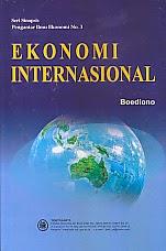 toko buku rahma: buku EKONOMI INTERNASIONAL, pengarang boediono, penerbit UGM
