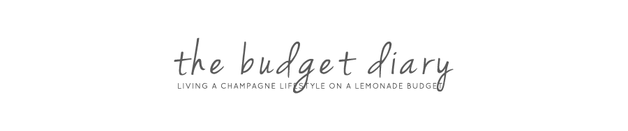 THE BUDGET DIARY | Your lifestyle guide to everything budget