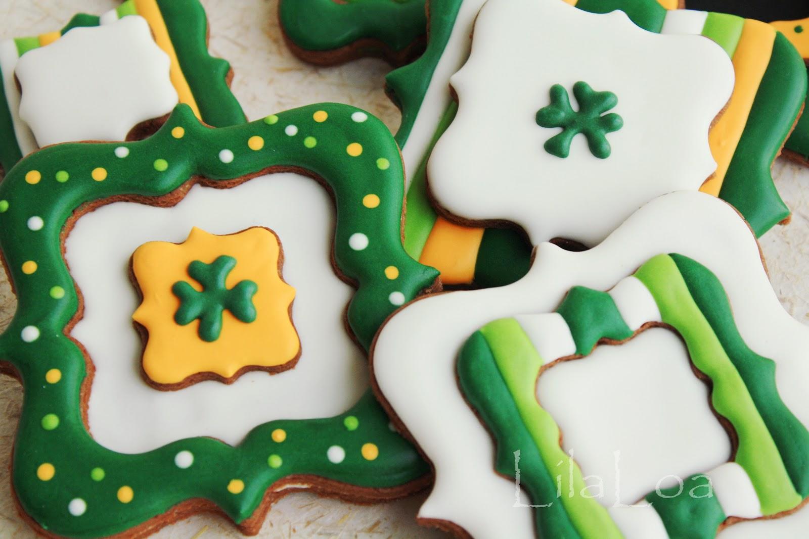 fancy st patrick u0027s day cookies lilaloa fancy st patrick u0027s day
