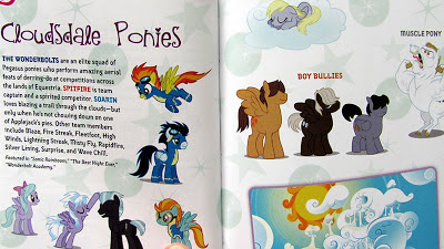 Cloudsdale ponies character guide