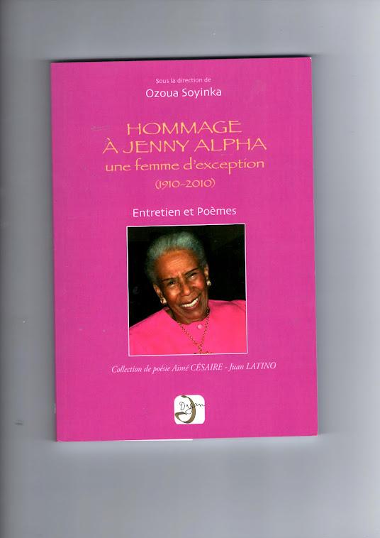 Recueil de Poésie en Hommage à Jenny Alpha
