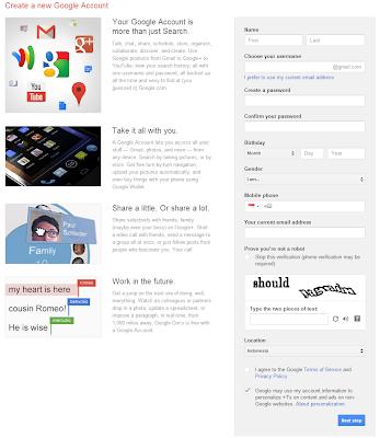 Cara membuat email dari Google, account google, email google, email, google