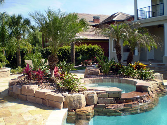 Greenflex landscaping blog poolscaping for your florida for Pool designs florida