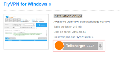 Télécharger le Client Windows de FlyVPN