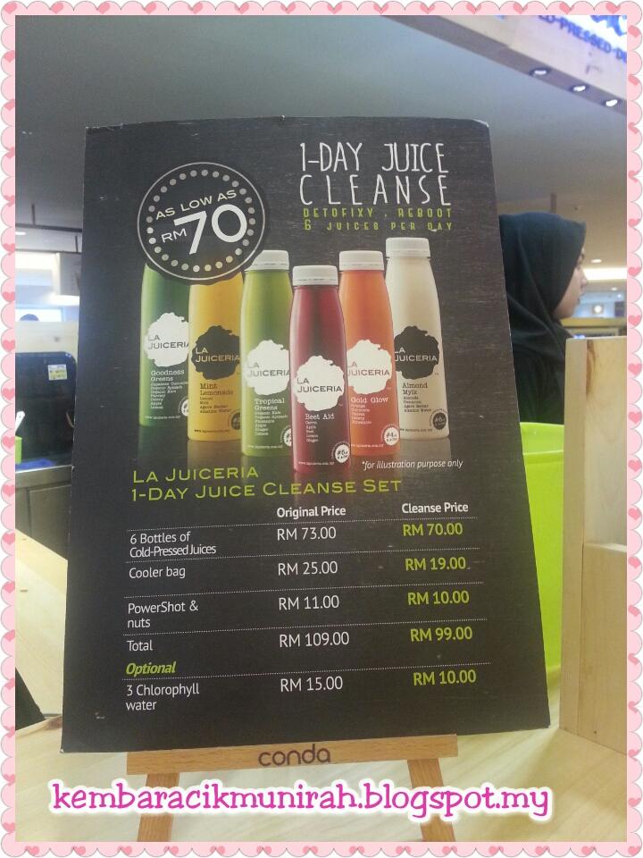 Blog Kaki Jalan Dan Kaki Buku La Juiceria Cold Pressed Juices