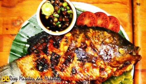 Ikan Gurame Bakar Ala Raja