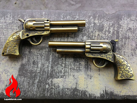 korek pistol classic + laser, lapak korek