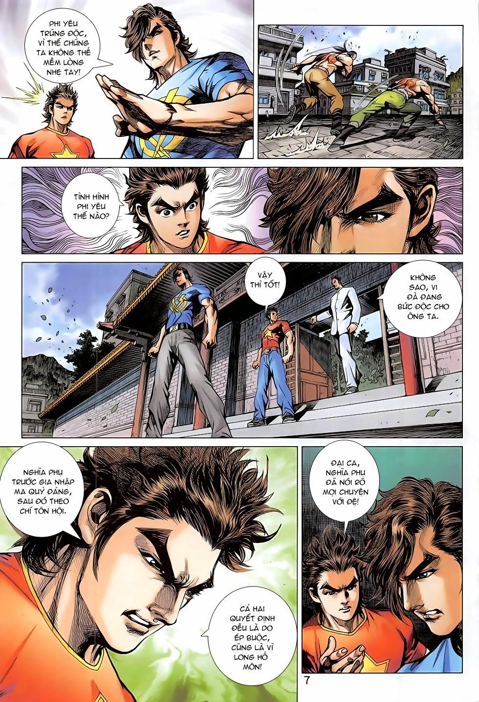 Tân Tác Long Hổ Môn chap 782 Trang 7 - Mangak.info
