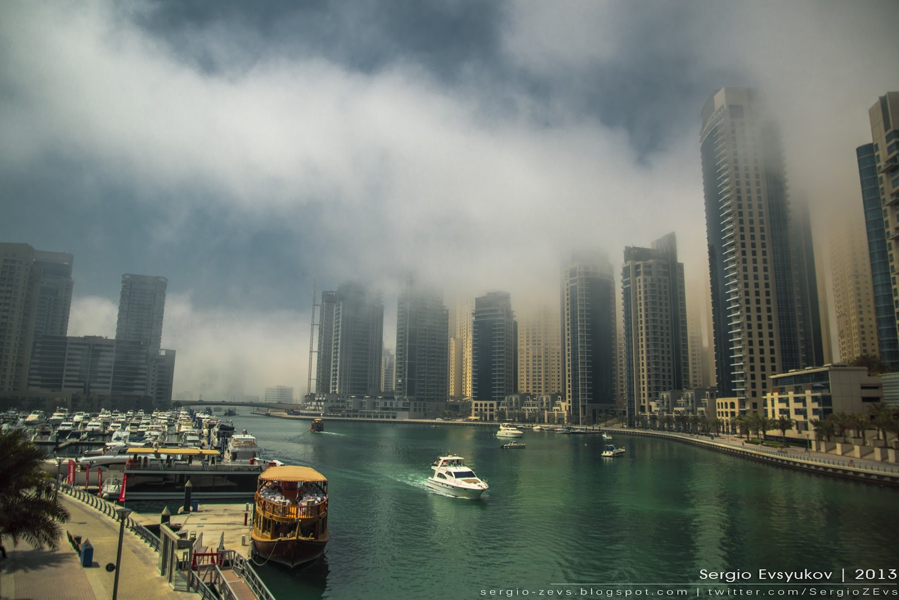 Fog and Dubai