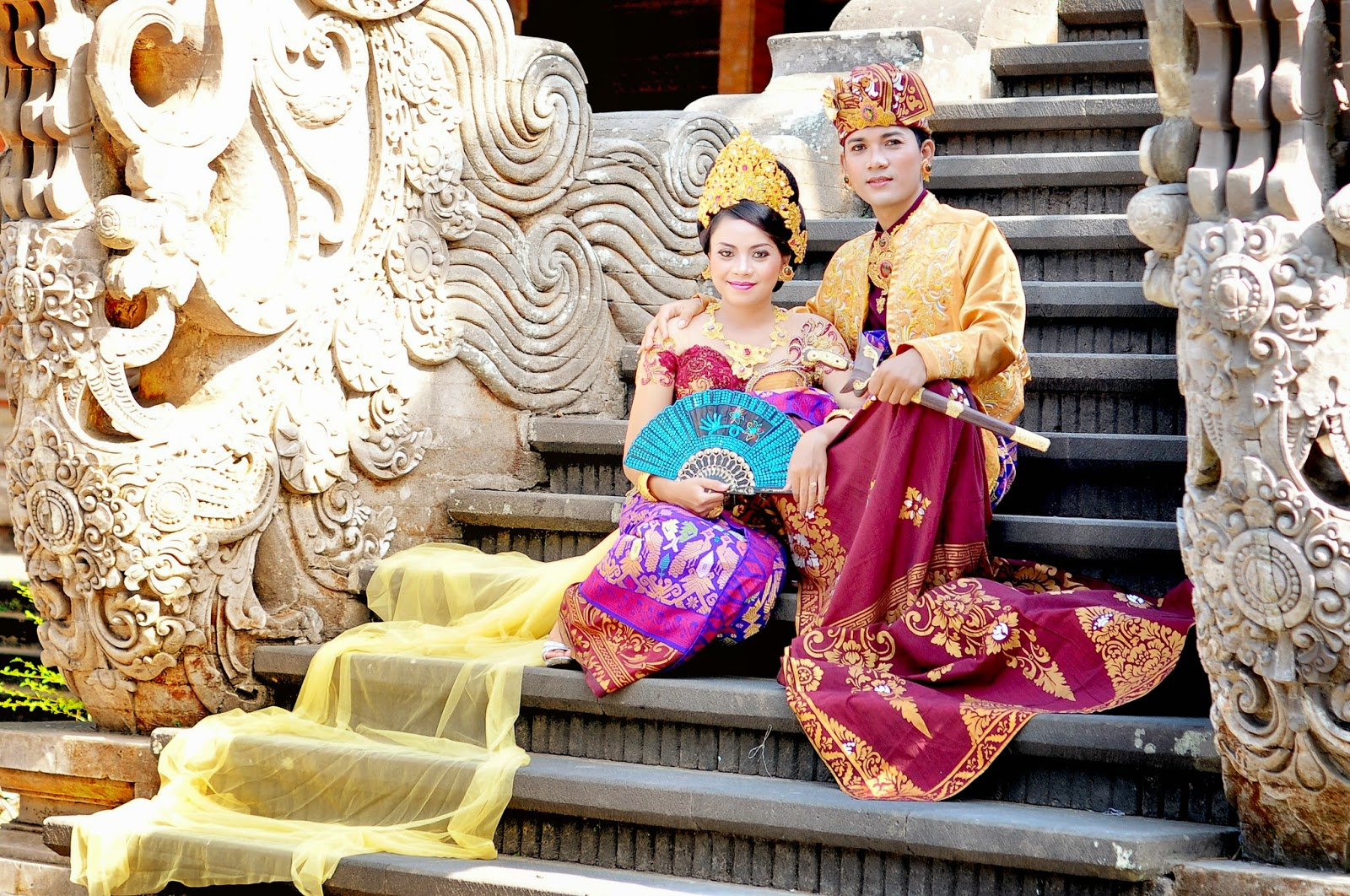 foto pre wedding di Artcenter bali
