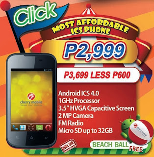 Cherry Mobile Click Price