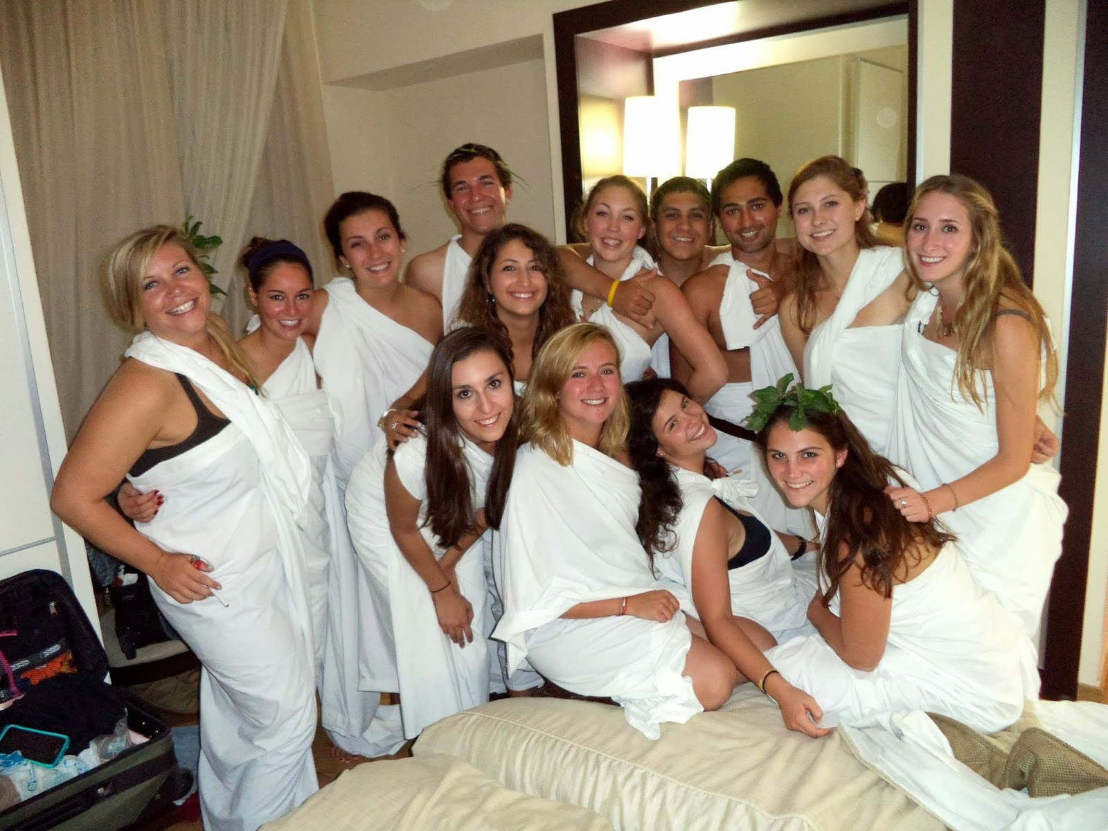 George A. David and Marina Spiropoulos Fellows Award: Toga party ...