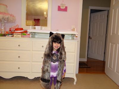 My daughter and her new Spirithood Check it out!