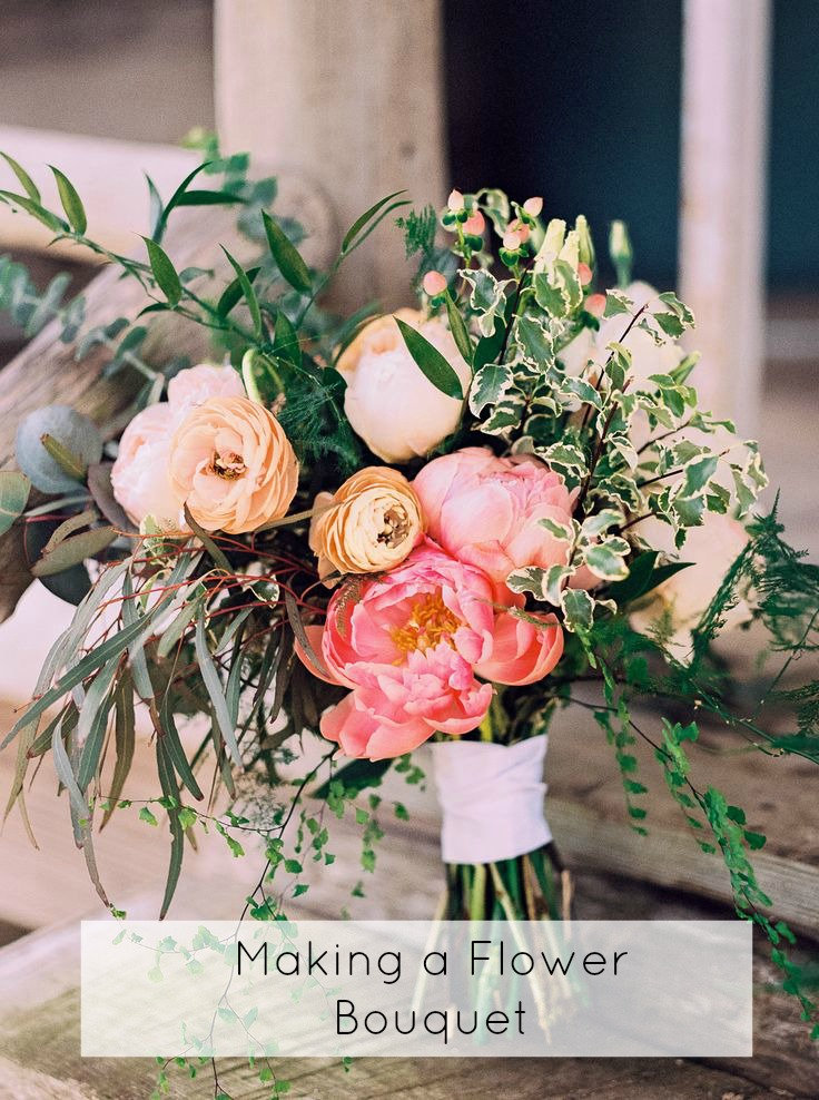 Making your own rustic flower bouquet glamour coastal living for Make your own flower arrangement