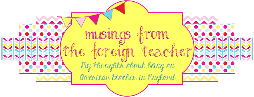 Musings from the Foreign Teacher