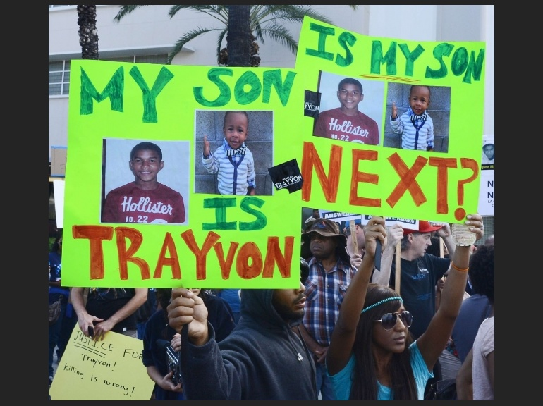 Zimmerman nationwide protest