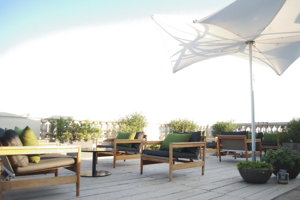 La florinata en la ciudad ad ntrate en la terraza con - Terrazas de barcelona ...