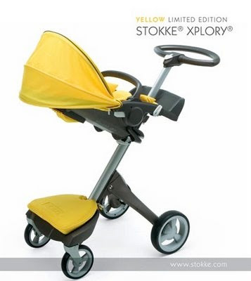 Yellow Limited Edition Stokke Xplory
