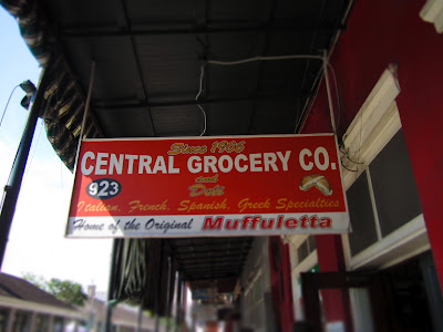 Central Grocery Co Sign - New Orleans