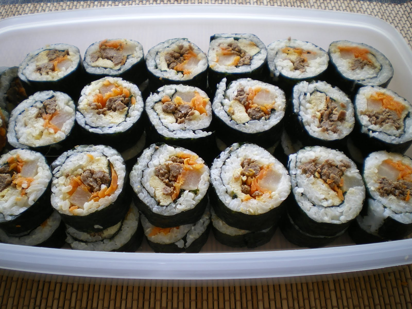 how to cook kimbap rice