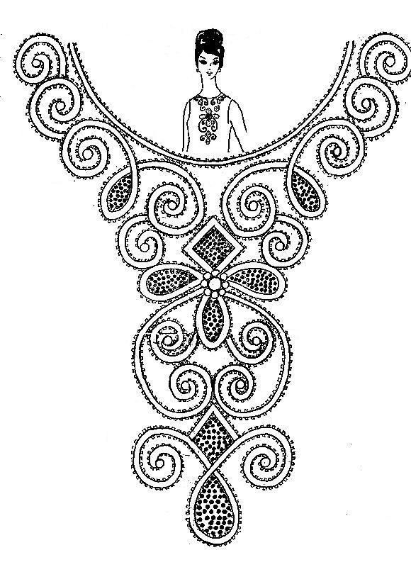 Образцы Для Вышивки Бисером - фото 8