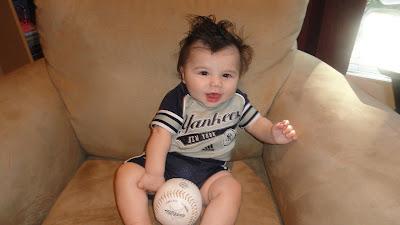 Wordless Wednesday  My Little Yankees Dude!
