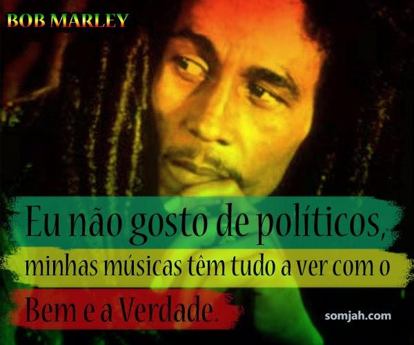 Frases De Bob Marley Com Imagens