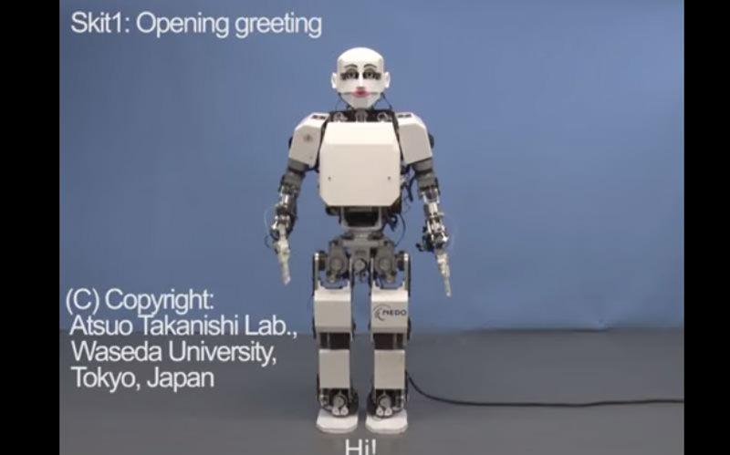 ロボットがお笑いをする時代!早稲田大学が作ったお笑いロボット