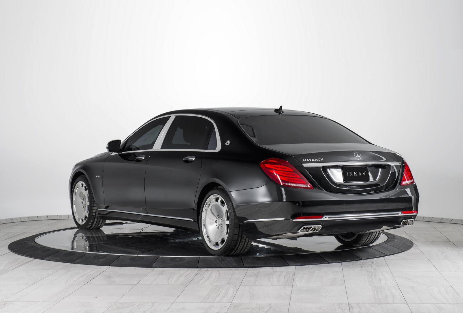 inkas reveals armoured 2016 mercedes maybach s600. Black Bedroom Furniture Sets. Home Design Ideas