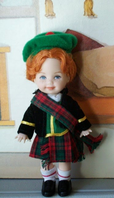 Mattel Scottish Tommy wearing a kilt