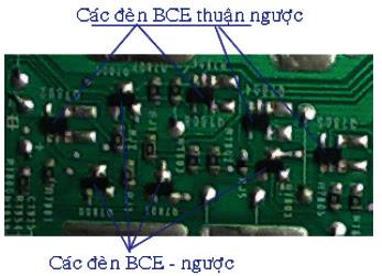 Hình 14 - Các đèn của mạch khuếch đại đệm
