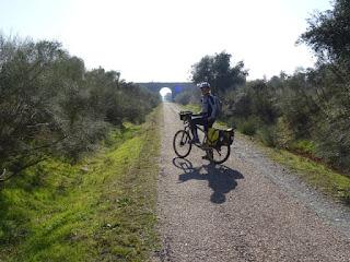 Inicio del Camino Natural de la Vía Verde de la Jara