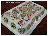 Henna Designed Box