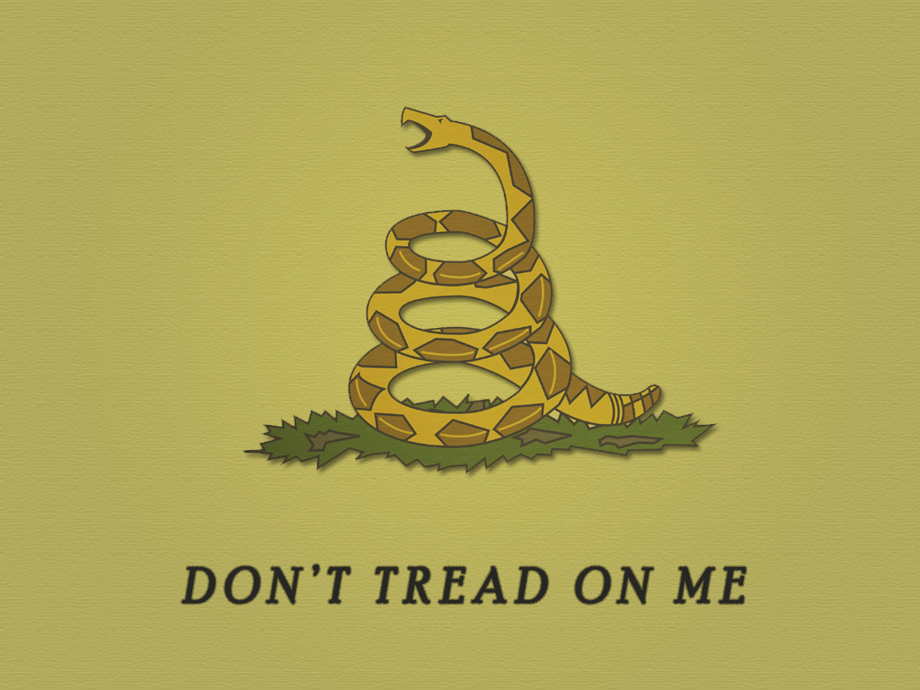gallery for dont tread on me flag original