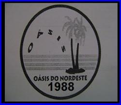 Primeira logomarca da Oásis do Nordeste feito em 1998