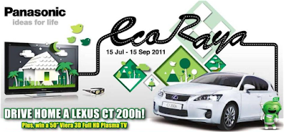 Panasonic 'Eco Raya' Contest