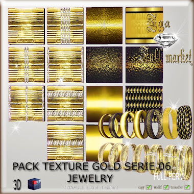 PACK TEXTURE GOLD SERIE 06 JEWELRY