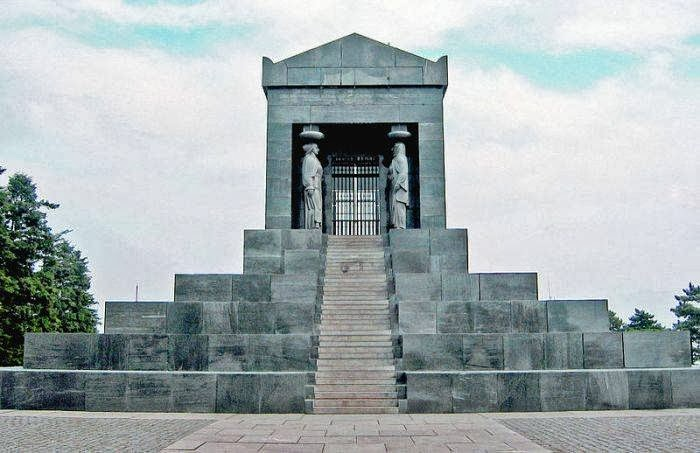 Monument to the Unknown Hero on Mt. Avala near Belgrade, Serbia