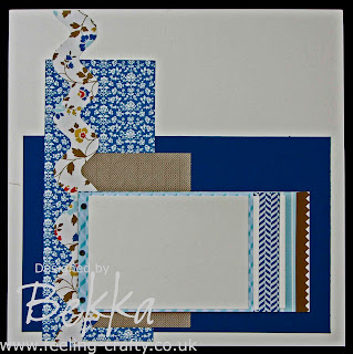 Clever Comfort Cafe Scrapbook Page by Stampin' Up! Demonstrator Bekka www.feeling-crafty.co.uk
