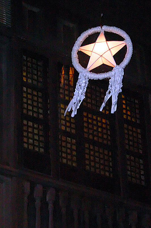 the famous christmas icon of the philippines a lantern in shape of a star which graces among the filipino streets houses buildings and trees every - Filipino Christmas Star
