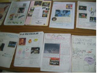 El peri dico escolar for Como elaborar un periodico mural escolar
