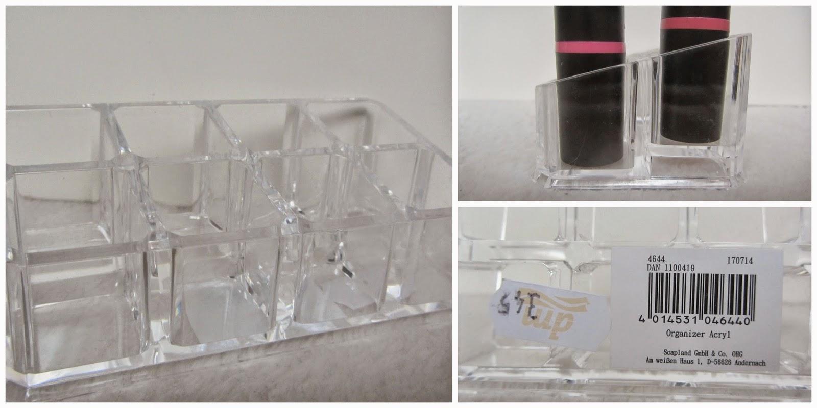 misszickzack acryl lippenstift aufbewahrung dm swatches. Black Bedroom Furniture Sets. Home Design Ideas