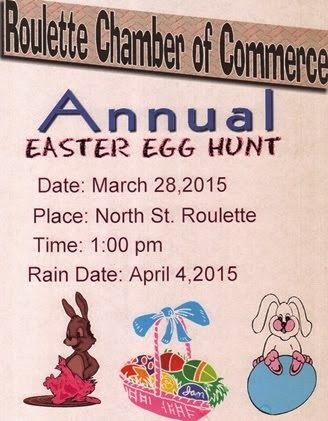3-28 Roulette Annual Easter Egg Hunt