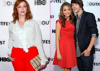 Christina Hendricks, Sarah Hyland & Matt Prokop: Outfest Fun » Gossip | Christina Hendricks | Sarah Hyland | Matt Prokop