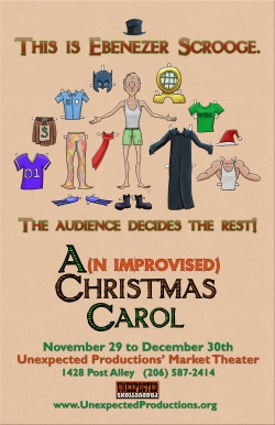 Seattle Theatresports Improvised Christmas Carol