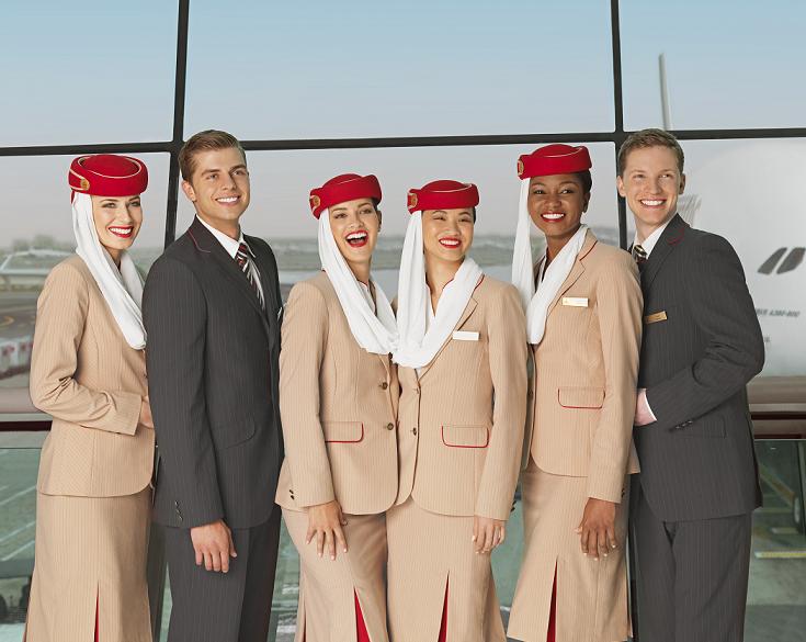 Emirates seleccionará tripulantes de cabina en España