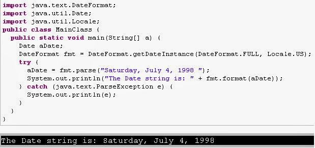 Date And Time Convertions Java Heart