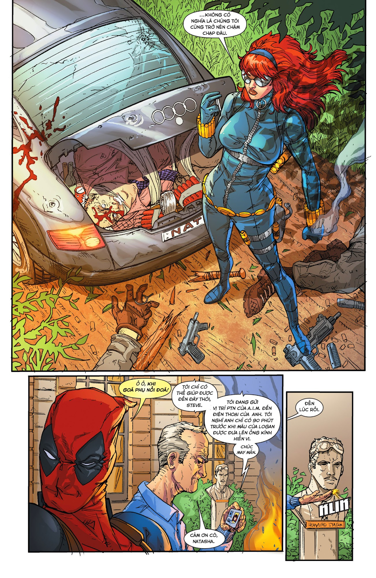 Death of Wolverine - Deadpool & Captain America [One Shot]
