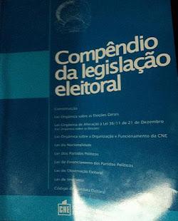 A CNE também já publicou o livro que estava a faltar