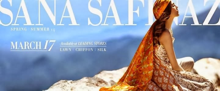 Sana Safinaz Spring Exclusive Lawn Collection